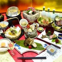 *【松茸スタンダードプラン/料理一例】松茸を始め、秋の味覚が満載です!