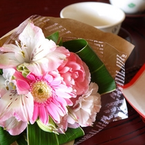 *【記念日/ブーケ】可愛いブーケで、お客様の特別な一日をお祝い致します