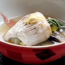 *【別注料理】/*「のどぐろの旬彩酒蒸し」新潟の海の幸を代表する高級魚です