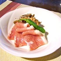 *【夕食】冬季シーズンのメニュー(一例)