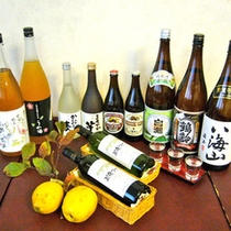 *【お酒】当館では、魚沼の銘酒を各種取り揃えております。銘柄など、お気軽にお尋ねください。