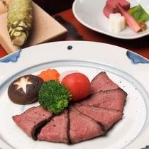 【伊豆鹿ロースト一例】美容と健康には最適なヘルシー食材です!