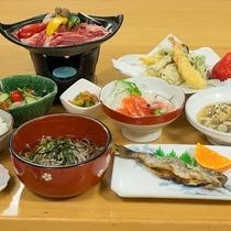 *[夕食一例]自家栽培で育てた季節の食材で岩手の懐かしいおふくろの味