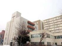 南側からみた北海道クリスチャンセンターです。