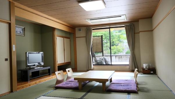 【禁煙】露天風呂付き和室(10畳〜12畳)