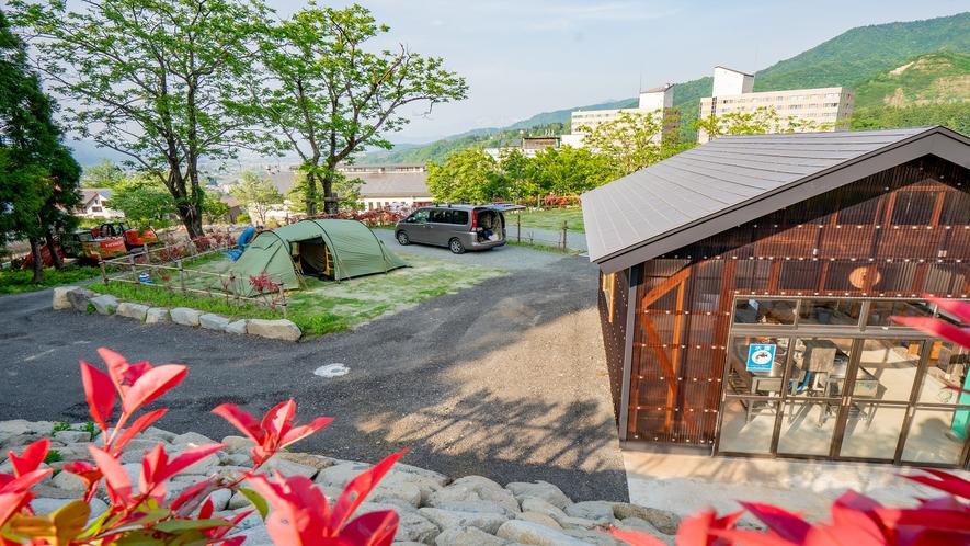 オートキャンプ場(Bサイト)