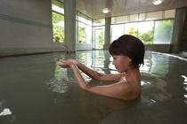 硫黄+鉄分の当館の温泉は、効能豊富!