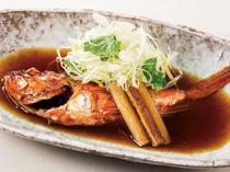 地魚『あらかぶ(カサゴ)煮付け』会席プラン