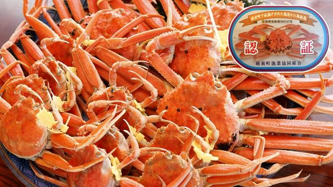 【特選ガニコース】さらに少し大きめゆで越前蟹!蟹通が選ぶ贅沢プラン!〆は開高丼!蟹料理7品(58)