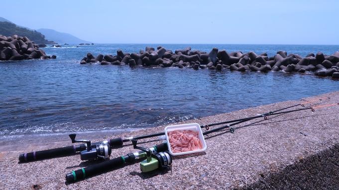 ≪手ぶらで磯釣り≫越前海岸で釣り体験♪ ★竿&餌付きでラクチン♪ 部屋食(12)