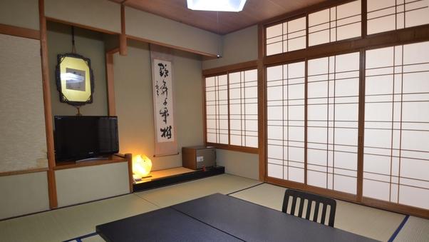 和室8畳(眺望選択不可)部屋にバス・トイレは付いておりません