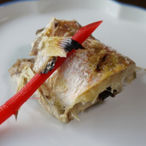 *ご夕食イメージ:あまだいの塩焼き