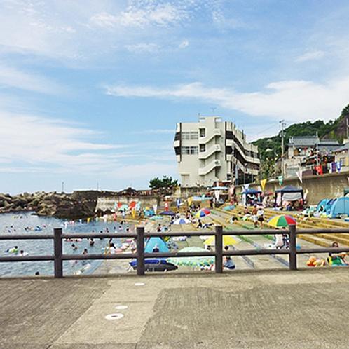 梅浦海水浴場(こばせ横)
