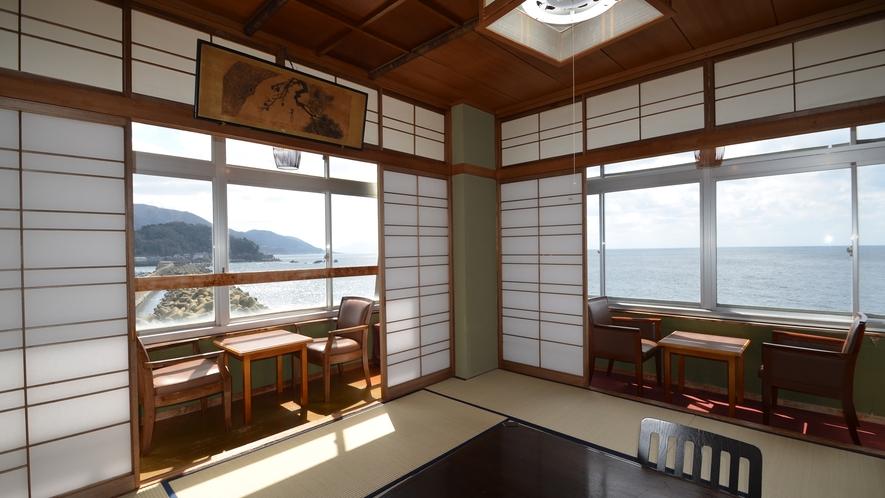 ■海側和室 角部屋(お部屋は選べません)