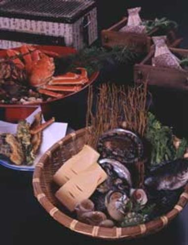 地物の季節料理