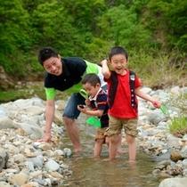 ■夏休み 川遊び