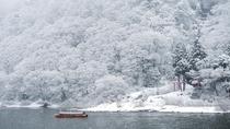 冬の最上川 舟下り