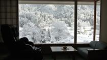 雪景色【和室+マッサージチェア付】人気の和室(禁煙)46平米