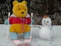 雪がいっぱぁ〜い☆