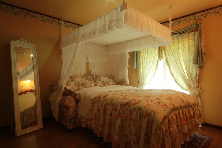 コテージスイート 寝室
