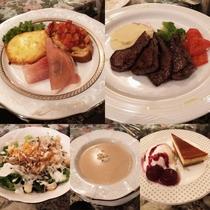 とちぎ和牛モモ肉の夕食