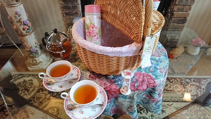 朝食の紅茶