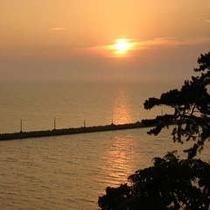 夕焼けの海2