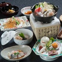上野屋おすすめ会席料理