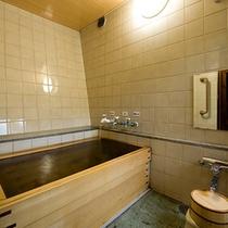 源泉掛け流しの部屋風呂付 和室