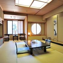 花舞樹の館2階【杜若】四季の移ろいを感じる大自然に囲まれたお部屋でごゆるりとお過ごしください