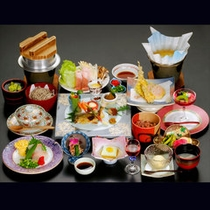 *【夕食一例/千代幻豚のしゃぶしゃぶ会席】
