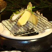 *【夕食一例/たけのこの網焼き】