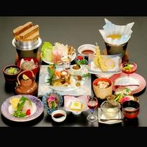 *【夕食一例/秋の松茸会席】