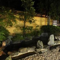 *女性用露天風呂。不動温泉に入れるのは、佐和屋だけ!入浴時間:6時~23時