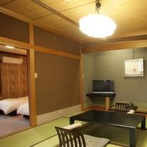 【本館】特別和洋室「有明」和室特別室3室はすべて作りが違い趣があります。