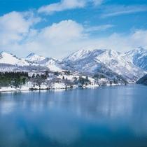 角神湖(冬)