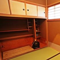 【離れ特別室】草枕:和室8畳+6畳/茶室/水屋【定員】2~5名