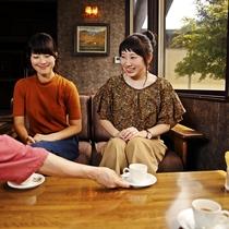 【ウェルカムドリンク】ご到着時に珈琲またはオレンジジュースをご用意(17:00頃まで)