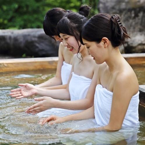 【貸切露天風呂】荒戸の湯/入浴イメージ