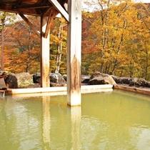 【貸切露天風呂】荒戸の湯/秋/予約:チェックイン時
