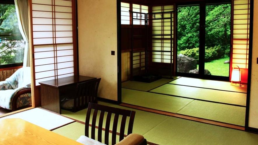 【離れ特別室】草枕:和室8畳/次の間6畳/茶室/水屋【定員】2~5名