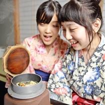 【イメージ】食事イメージ/炊き立て釜飯