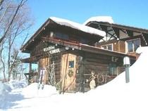 冬のペンションスイス