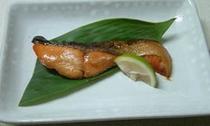 秋鮭の柚あん焼
