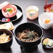 【山の茶屋】蕎麦御膳