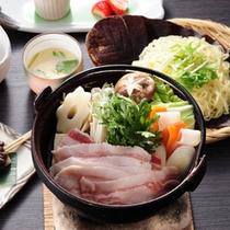 【山の茶屋】猪鍋