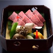 宮崎産黒毛和牛ステーキ(国産A5級)へグレードアップ!