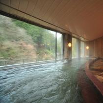 【展望大浴場(女性)】山々を見渡せる展望大浴場
