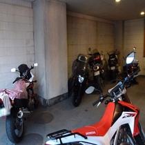 バイク・自転車専用屋内駐輪場