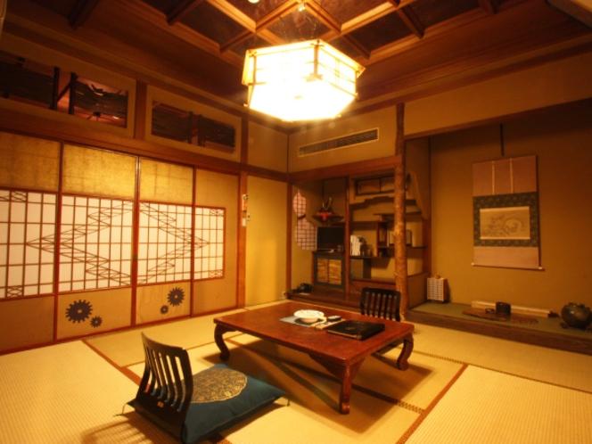 客室Aプラン(厳選木造9室)の一例